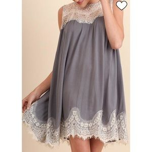 Umgee Lace Dress NWT